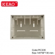 PIC335 with size 145*90*130 New design diy pcb din rail enclosure Universal DIN Rail Enclosure