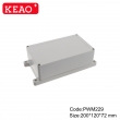 ip65 plastic waterproof enclosure junction box with terminals wall enclosure PWM229   200*120*72mm
