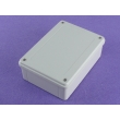 Plastic ABS gray IP65 Water Resistant Enclosure for outdoor use