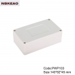 outdoor waterproof enclosure electrical junction box ip65 plastic enclosure PWP103 with  145*82*45mm