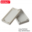 ip65 waterproof plastic enclosure abs box plastic enclosure electronics PWP364 with size 160*90*40mm