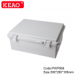 weatherproof electrical box junction box waterproof abs box plastic enclosure PWP668  390*290*165mm
