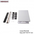 wifi modern networking abs plastic enclosure Custom Network Enclosures PNC038 with size 245*163*47mm