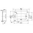 surface mount junction box wall mounting enclosure box plastic enclosure box PWM006 85*59*35mm