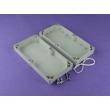 electronic enclosure abs plastic waterproof electronic enclosure Watertight Cabinet PWE073 wire box