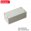 China Plastic Waterproof Enclosure Junction box ip65 plastic enclosure PWP454 with size 160*80*60mm